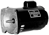 2 Hp 2 Speed Square Flange Motor