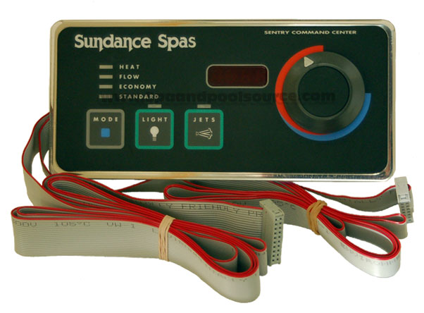 6600 013 spa circuit board for sundance® obsolete side control for sundance® spa sentry 600 650 series out blower 6600