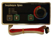 Side Control for Sundance® Spas 400 EV Series, Systems without Blower - 6600-993