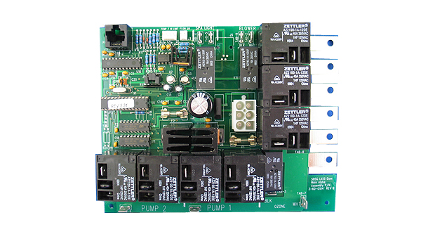 Spa builders lx 15 circuit board with extended software for Spa builders