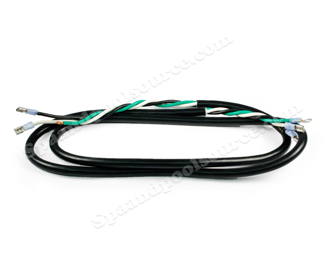 spa pump power cord for 1 speed pump 3 wire 6560