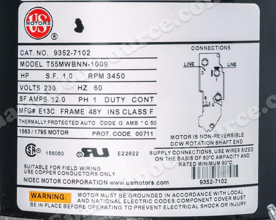 nidec motor wiring diagram nidec image wiring diagram spa motor sph30fl1 us motors on nidec motor wiring diagram