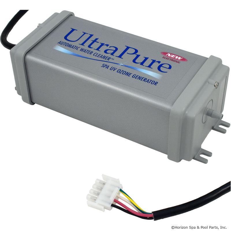 Ultrapure water quality ozone system 240v 60hz caldera spas parts.