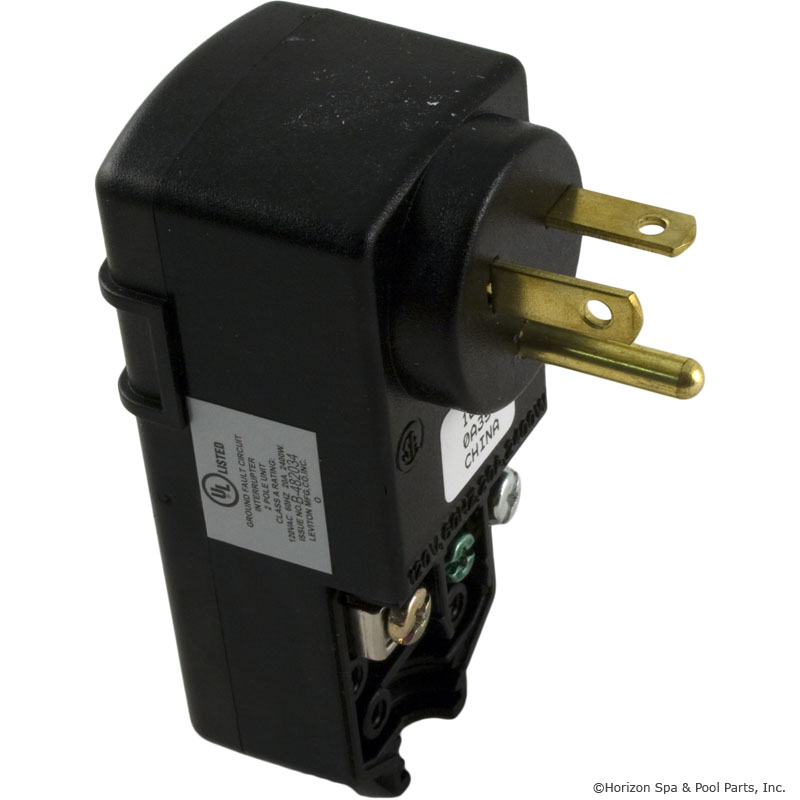 GFCI Leviton 20Amp Right Angle Plug