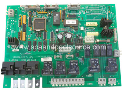 6600017 6600 028 spa circuit board for sundance� spas with permaclear sundance spa wiring diagram at gsmportal.co