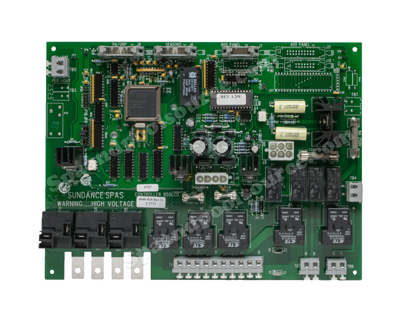 6600 018 spa circuit board for sundance spas rh spaandpoolsource com