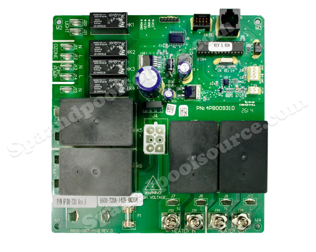 6600 720 spa circuit board for sundance�, sweetwater Smoker Craft Wiring Diagram 6600 720 spa circuit board for sundance� spas, sweetwater
