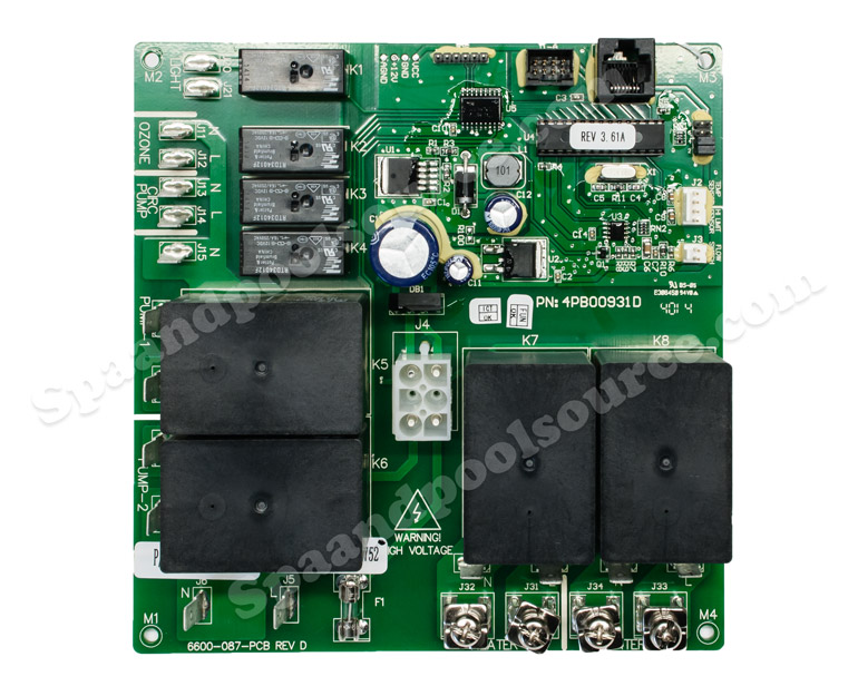 6600 726 6600 726 spa circuit board for sundance sweetwater with rh spaandpoolsource com Sundance Hot Tubs Troubleshooting Sundance Hot Tubs Accessories